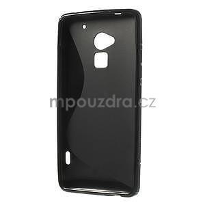 Gelové S-line pouzdro pro HTC one Max-černé - 5
