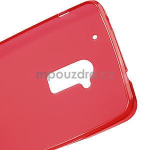 Gelové matné pouzdro pro HTC one Max- červená - 5