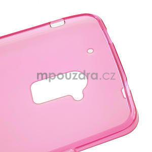 Gelové matné pouzdro pro HTC one Max- růžové - 5