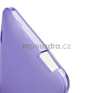 Gelové matné pouzdro pro HTC one Max- fialové - 5
