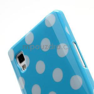 Gelové PUNTÍK pouzdro pro LG Optimus L9 P760- modré - 5