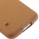 Gelové pouzdro na Samsung Galaxy S5- oranžové - 5/5