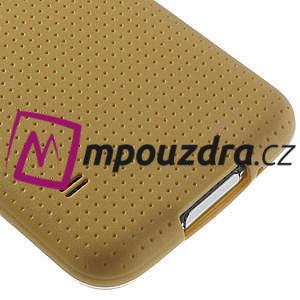 Gelové pouzdro na Samsung Galaxy S5- zlaté - 5