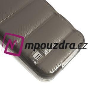 Gelové vesta pouzdro na Samsung Galaxy S5- šedé - 5