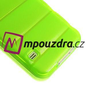 Gelové vesta pouzdro na Samsung Galaxy S5- zelené - 5