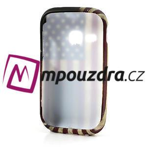 Gelové pouzdro na Samsung Galaxy Young S6310- USA vlajka - 5
