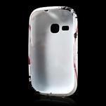 Gelové pouzdro na Samsung Galaxy Young S6310- červený květ - 5/5