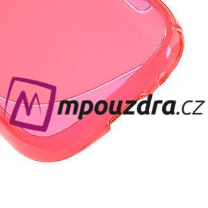 Gelové S-line pouzdro na Samsung Galaxy Young S6310- růžové - 5