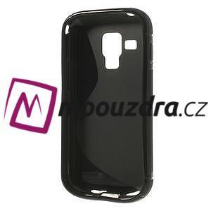 Gelové S-line pouzdro pro Samsung Trend plus, S duos- černé - 5