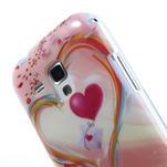Gelové pouzdro na Samsung Galaxy Trend, Duos- labutí srdce - 5/5