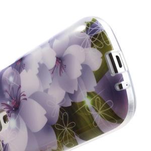 Gelové pouzdro na Samsung Galaxy Trend, Duos- elegantní květ - 5
