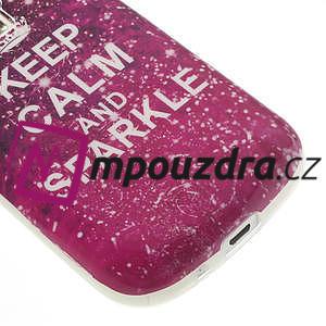 Gelové pouzdro na Samsung Trend plus, S duos - třpytivé - 5