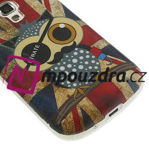 Gelové pouzdro na Samsung Trend plus, S duos - UK sova - 5