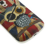 Gelové pouzdro na Samsung Trend plus, S duos - UK sova - 5/6