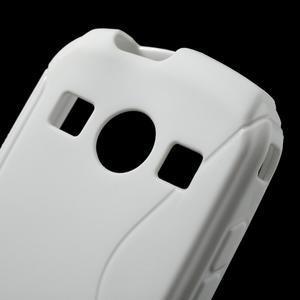 Gelové S-line pouzdro na Samsung Galaxy Xcover 2 S7710- bílé - 5