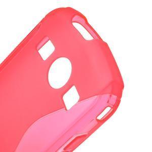 Gelové S-line pouzdro na Samsung Galaxy Xcover 2 S7710- růžové - 5