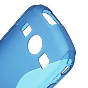 Gelové S-line pouzdro na Samsung Galaxy Xcover 2 S7710- modré - 5