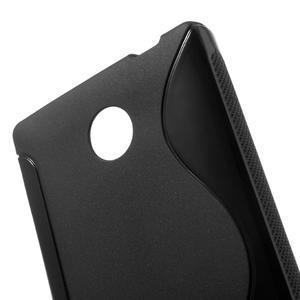Gelové S-line pouzdro na Nokia X dual- černé - 5