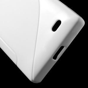 Gelové S-line pouzdro na Nokia X dual- bílé - 5