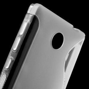 Gelové S-line pouzdro na Nokia X dual- transparentní - 5