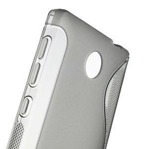 Gelové S-line pouzdro na Nokia X dual- šedé - 5