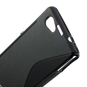 Gelové S-line pouzdro na Sony Xperia Z1 Compact D5503- černé - 5