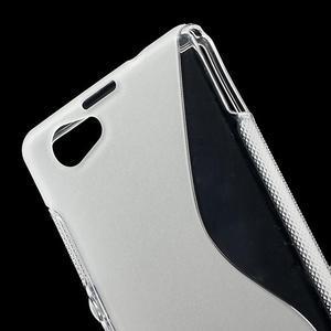 Gelové S-line pouzdro na Sony Xperia Z1 Compact D5503- transparentní - 5
