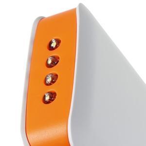 Vysokokapacitní externí nabíječka PowerBank GT 11 800 mAh - oranžová - 5