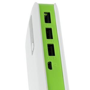 Vysokokapacitní externí nabíječka PowerBank GT 11 800 mAh - zelená - 5