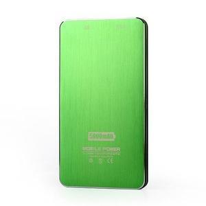 Slim GX externí nabíječka PoweBank 5 000 mAh - zelená - 5