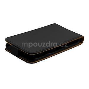 Flipové pouzdro na Samsung Galaxy Xcover 3 - černé - 5