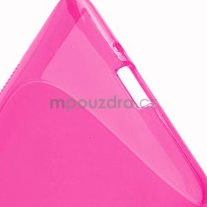 Gelové S-line pouzdro pro HTC Desire 600- růžové - 5