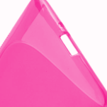 Gelové S-line pouzdro pro HTC Desire 600- růžové - 5/6