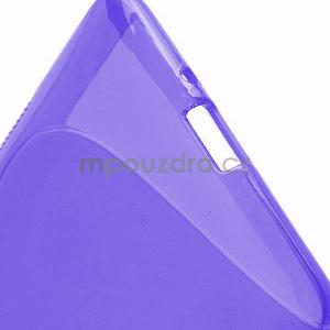Gelové S-line pouzdro pro HTC Desire 600- fialové - 5