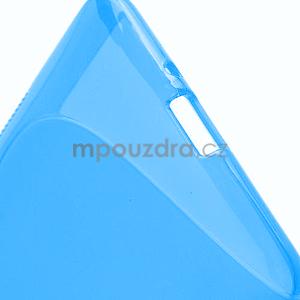 Gelové S-line pouzdro pro HTC Desire 600- modré - 5