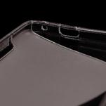 Gelové S-line pouzdro pro HTC one M7- černé - 5/5