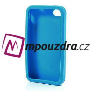 Silikonové pouzdro na iPhone 4 4S - Santa Claus - 5