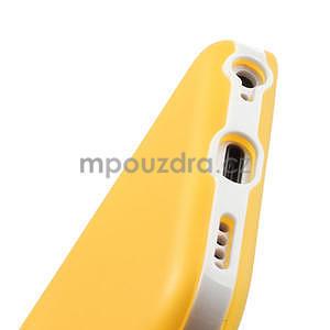 Gelové rámové pouzdro pro iPhone 5C- žluté - 5