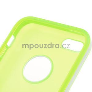 Gelové rámové pouzdro pro iPhone 5C- zelené - 5