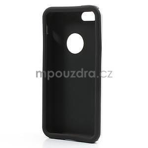 Gelové metalické pouzdro pro iPhone 5C- bílé - 5
