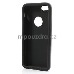 Gelové metalické pouzdro pro iPhone 5C- šedé - 5