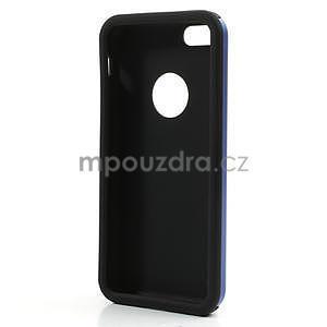 Gelové metalické pouzdro pro iPhone 5C- modré - 5