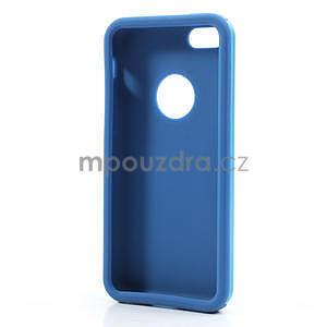 Gelové metalické pouzdro pro iPhone 5C- světlemodré - 5