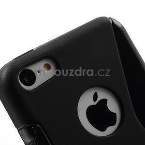 Gelové S-line pouzdro pro iPhone 5C- černé - 5
