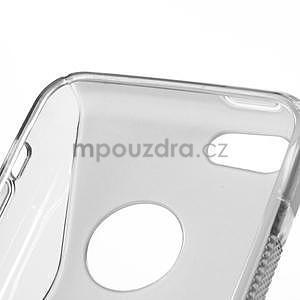 Gelové S-line pouzdro pro iPhone 5C- šedé - 5