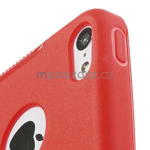 Gelové S-line pouzdro pro iPhone 5C- červené - 5