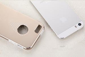 Hliníkové pouzdro na iPhone 5, 5s- stříbrné - 5
