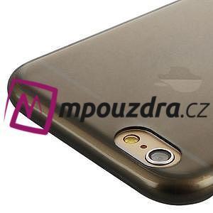 Ultra slim 0.7 mm gelové pouzdro na iPhone 6, 4.7  - šedé - 5