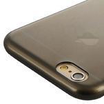 Ultra slim 0.7 mm gelové pouzdro na iPhone 6, 4.7  - šedé - 5/7