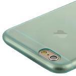 Ultra slim 0.7 mm gelové pouzdro na iPhone 6, 4.7  - modré - 5/7